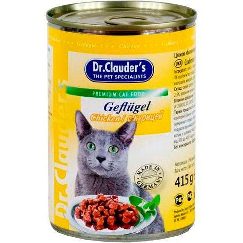 Dr.Clauder's консервы для кошек 415 гр.