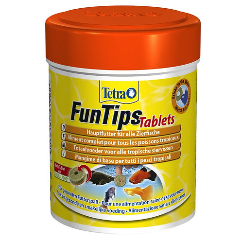 TETRA FUNTIPS TABLETS 75 таблеток.