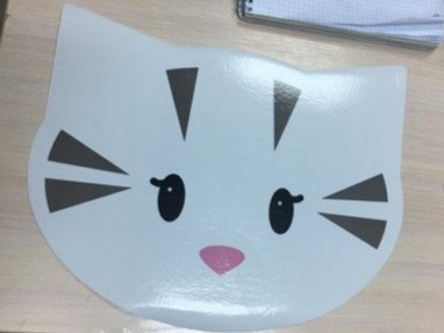 Коврик под миски для кошки. 35*29 см.