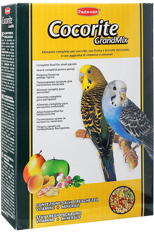 Padovan (Падован) корм для волнистых попугаев 600 гр.