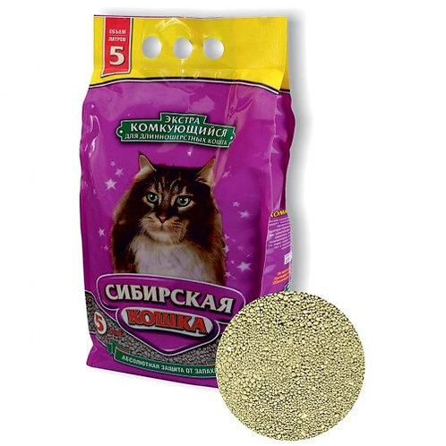 Сибирская кошка экстра 5л.