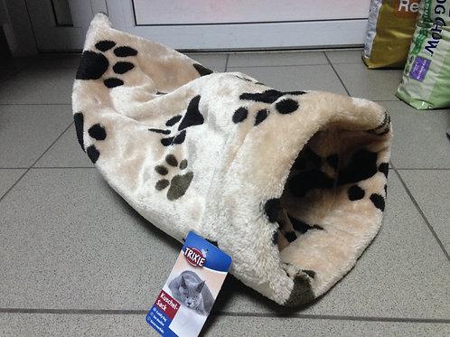 Шуршащий домик мешок-игрушка для кошек 37*60 см.