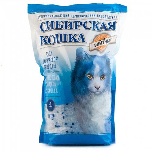 Сибирская кошка силикагель 4 л.