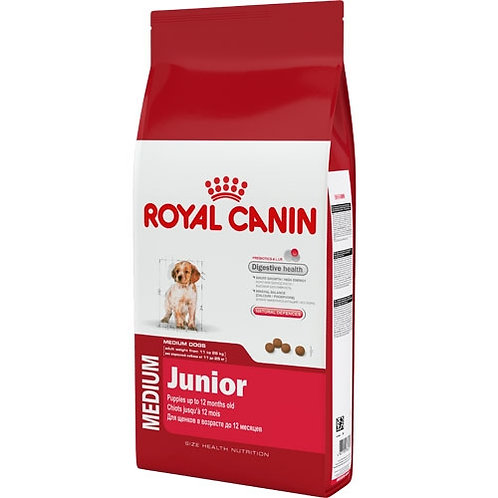 Royal Canin Medium Junior корм для щенков 4 кг.