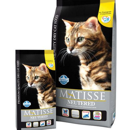 Farmina Matisse для стерилизованных котов и кошек 0,4 кг.