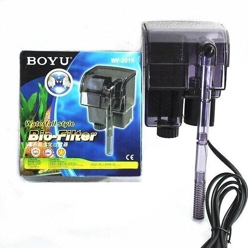 Boyu WF-2015 фильтр аквариумный навесной, рюкзачный (6 Вт, 150 л./ч.)