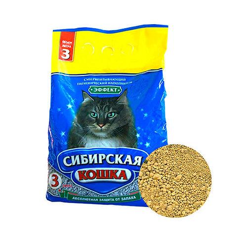 Сибирская кошка эффект наполнитель 3л.