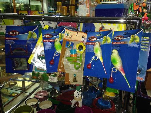 Игрушки для птиц в ассортименте