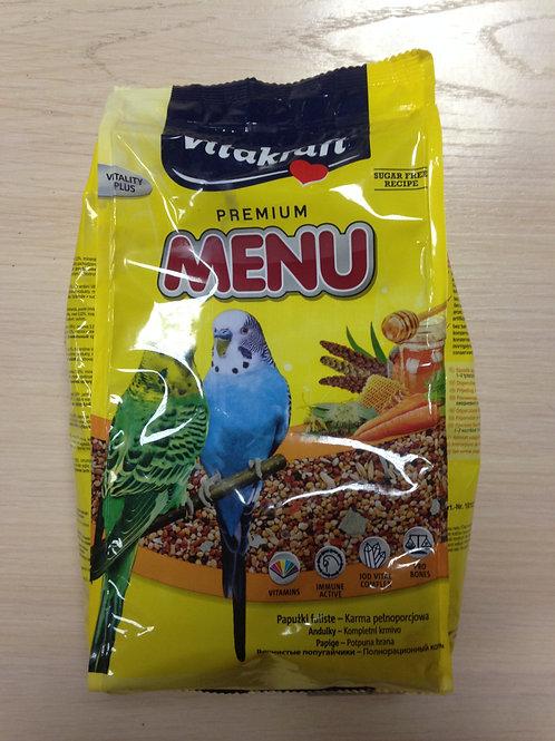 Vitakraft Premium Menu (Витакрафт) корм для попугаев 1 кг.