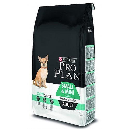 PRO PLAN корм для собак мелких пород с ягнёнком 7 кг.