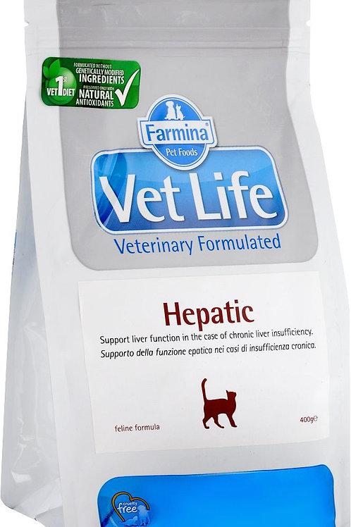Farmina Vet Life Hepatic вет. диета для печени 0,4 кг.