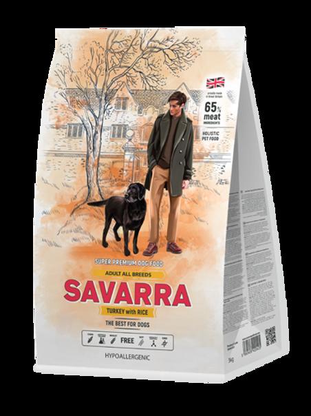 Savarra корм для собак всех пород индейка 1 кг.