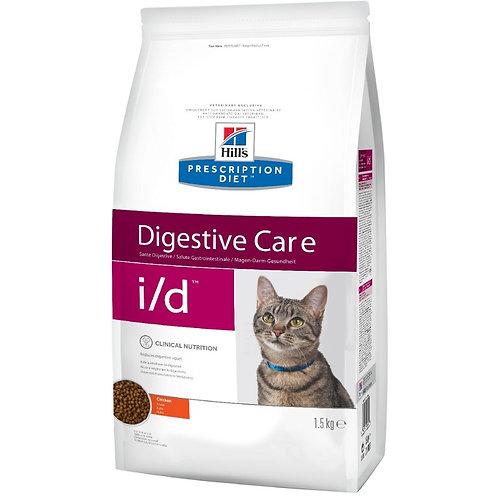 Hill's i/d корм для кошек с курицей 1,5 кг.