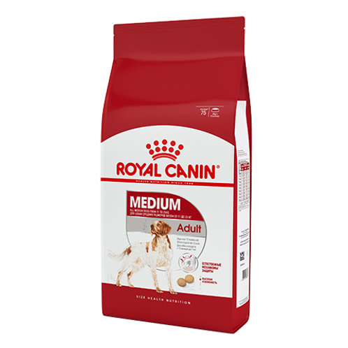 Royal Canin Medium Adult (Роял Канин Медиум) сухой корм для собак 15 кг.