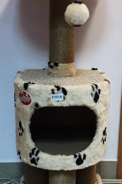 Комплекс для кошек домик с когтеточкой