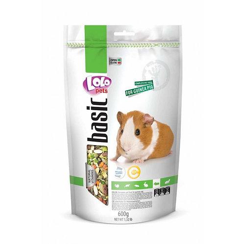 LoLo Pets basic корм для морских свинок 600 гр.