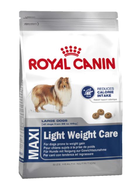 ROYAL CANIN MAXI LIGHT WEIGHT CARE корм для собак 1 кг.