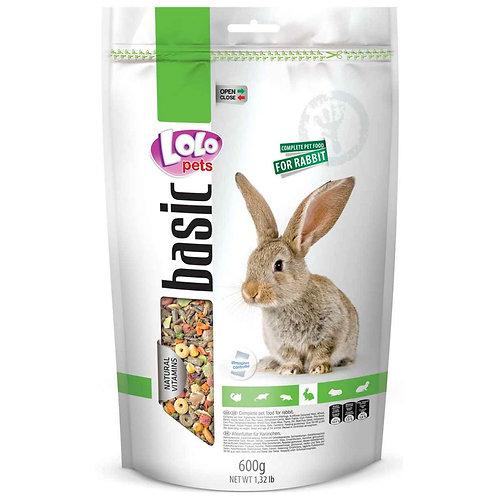 LoLo Pets basic корм для кроликов 600 гр.