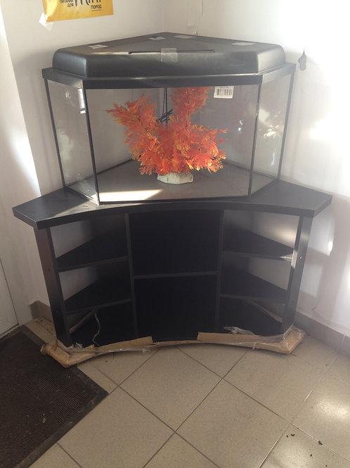 Тумба аквариумная угловая