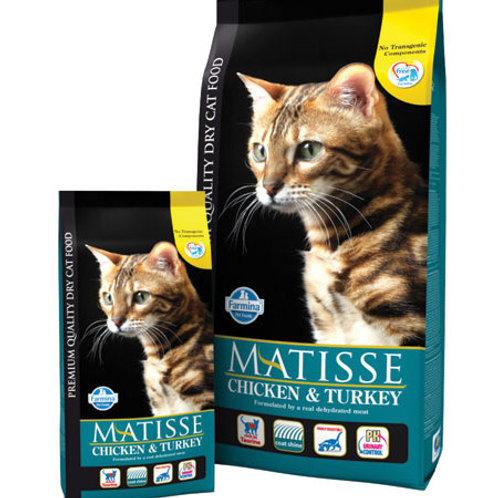 Farmina Matisse корм для взрослых кошек 0,4 кг.