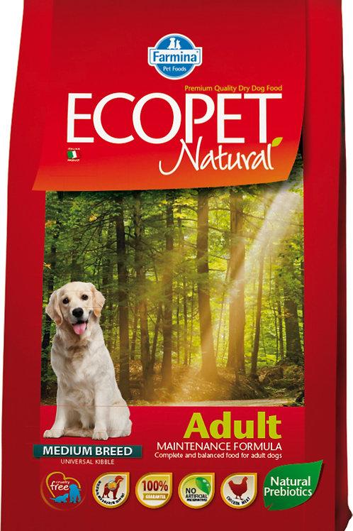 Фармина Экопет корм для собак с курицей 12 кг. Farmina Adult