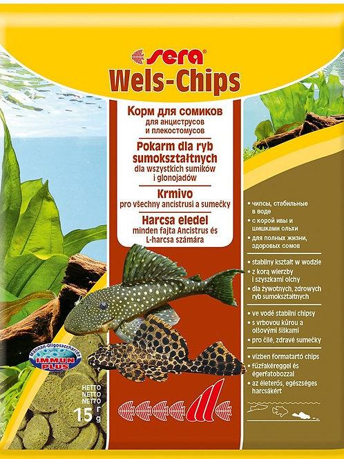 SERA Wels-chips 15гр.