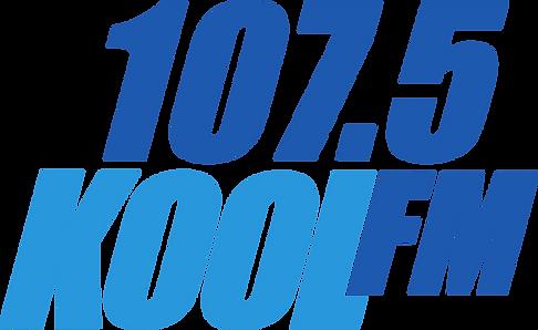 Kool FM Stacked - Large - Transparent Ba