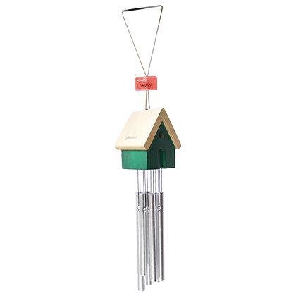 Green House Bells Ornament