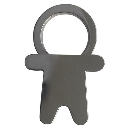 Man Bottle Opener Keychain