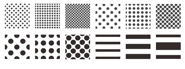 Standard Silk-Screen & Ceramic Frit Patterns