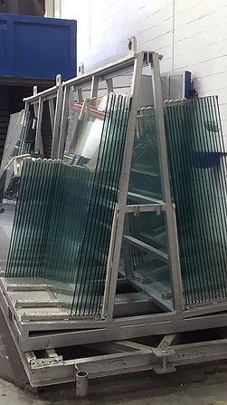 Heat soak glass process