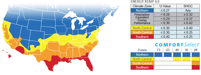 Energy Star Regions Map