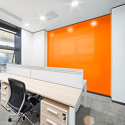 Color Coated Glass Wall-Cadding