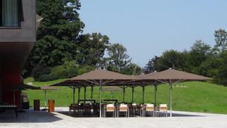 Beschattungsanlage Roche Forum Buonas