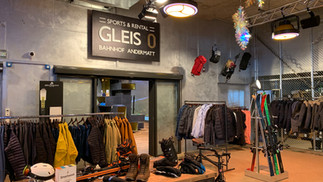 Gleis 0 Sport Shop, Bahnhof Andermatt