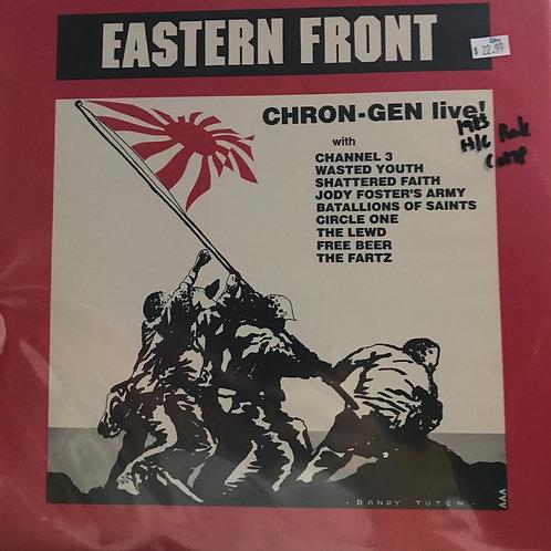 Eastern Front Chron- Gen live! 1983 punk comp