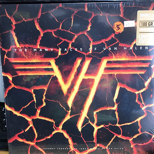 Many Faces of Van Halen Yellow Vinyl