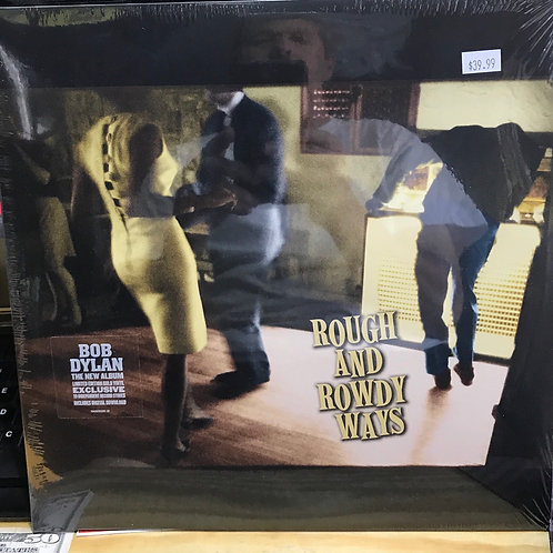 Bob Dylan Rough and Rowdy Ways Gold Vinyl