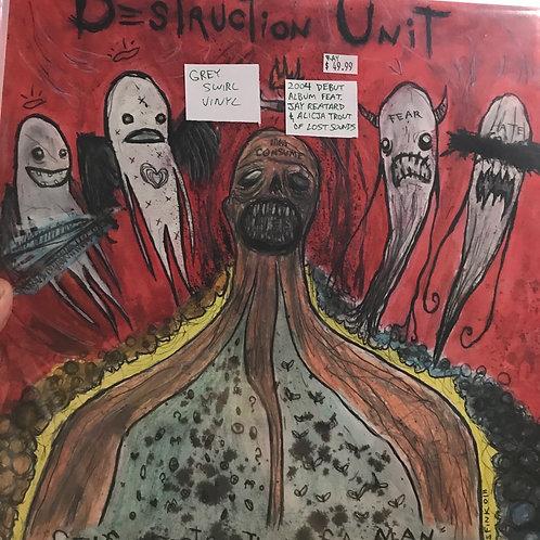 Destruction Unit Self destruction of a man