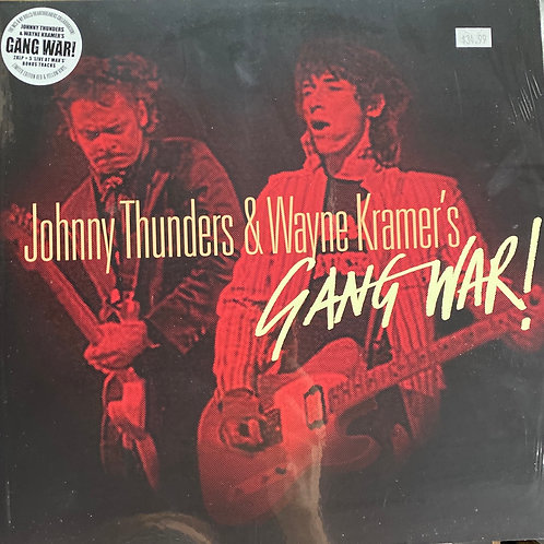 Johnny Thunders & Wayne Kramer's Gang War