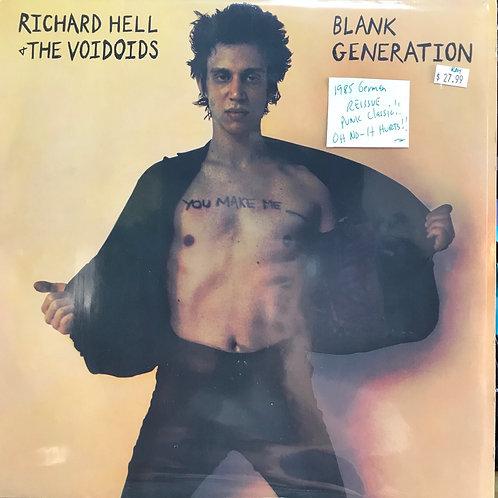Richard Hell & the Voidoids Blank Generation