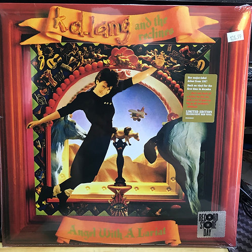 K.d. Lang and the reclines Angel with a Lariat