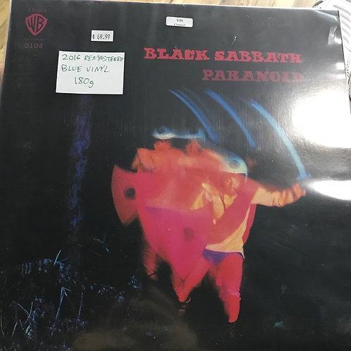 Black Sabbath Paranoid 2016 blue vinyl