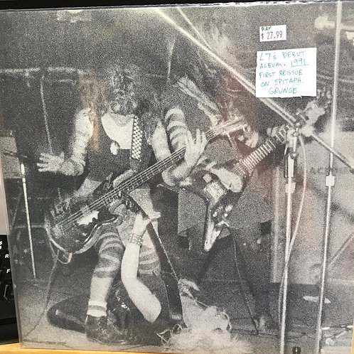 L7 debut 1991 reissue