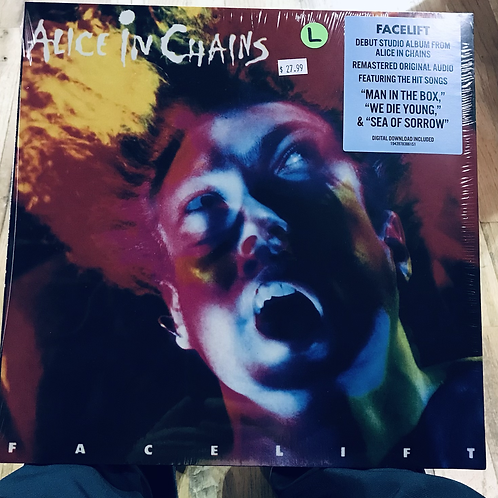 Alice In Chains Facelift reissue