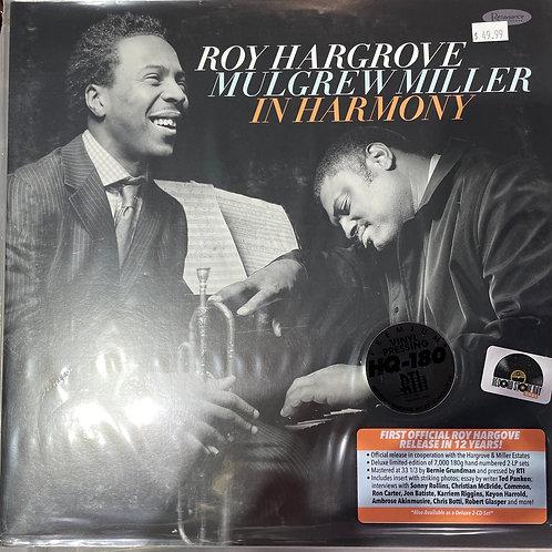 Roy Hargrove Mulgrew Miller In Harmony