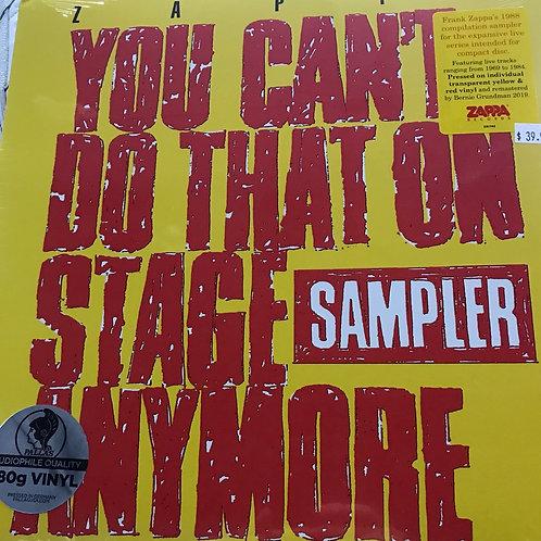 Frank Zappa Sampler Live