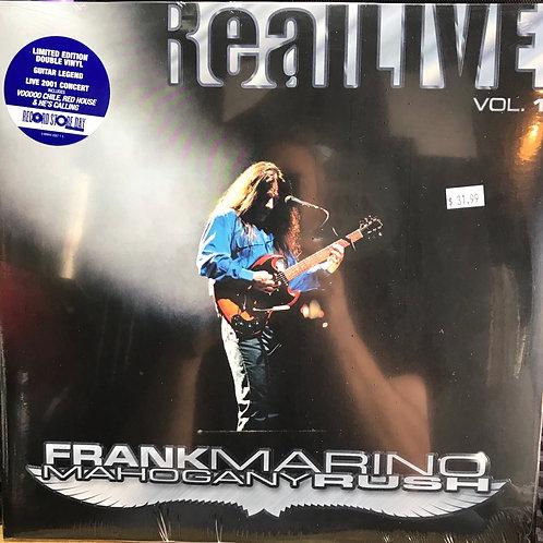 Frank Marino Real Live Vol I