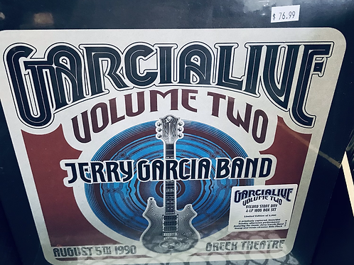 Jerry Garcia Band Live Vol II