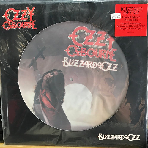 Ozzy Osbourne Blizzard of Ozz Ltd Edition Picture disc